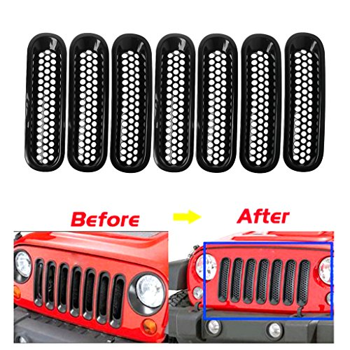 Cam/éra de recul Voiture /étanche Couleur Haute d/éfinition de visionnement avec Plaque dimmatriculation Vision Nocturne pour Jeep Wrangler//Willys//Unlimited Sahara Spare Tire Rubicon 2007-2015
