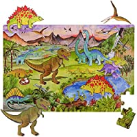 Amonev world map floor puzzles for both table and floor with extra thick pieces