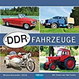 Wochenkalender DDR-Fahrzeuge 2018 -