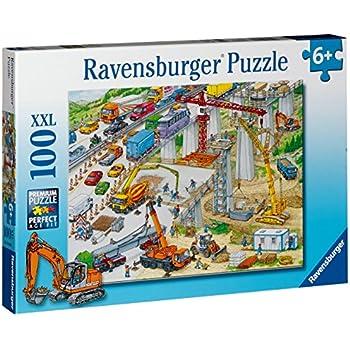 Ravensburger - 10896 - Puzzle XXL - Chantier - 100 pièces