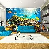 murando - Fototapete 350x245 cm - Vlies Tapete - Moderne Wanddeko - Design Tapete - Wandtapete - Wand Dekoration - Fisch Natur b-A-0002-a-a