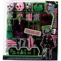 Monster High Y0416 - Crea tu monstruo, accesorios para muñecas