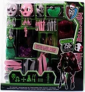Monster High - Y6609 - Poupée - Coffret Creat'Terreur - Loup-Garou / Dragon