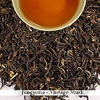2016 | Jungpana | Darjeeling 2nd flush Black Tea 100gm(3.52oz),Loose Leaf Organic Premium Teas of SFTGFOP1 by Darjeeling Tea Boutique