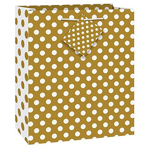 Einzigartige Polka Dot Geschenk Tasche, 31,8x 26,7cm 9