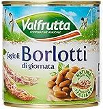 Valfrutta - Fagioli Borlotti Da Fresco, 3 X 400 G - 1200 G
