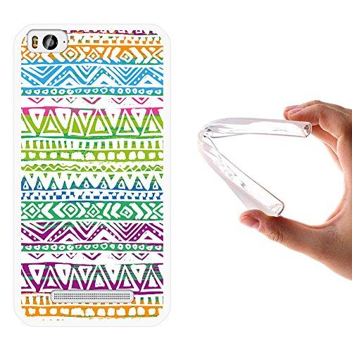 Xiaomi Mi 4c Hülle, WoowCase Handyhülle Silikon für [ Xiaomi Mi 4c ] Gezeichnete Stammeshand Handytasche Handy Cover Case Schutzhülle Flexible TPU - Transparent