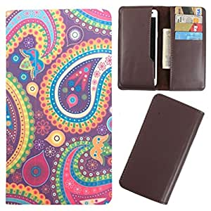 DooDa - For Wickedleak Wammy Desire 3 PU Leather Designer Fashionable Fancy Case Cover Pouch With Card & Cash Slots & Smooth Inner Velvet