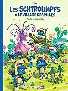 """Afficher """"Schtroumpfs et le village des filles (Les) n° 1 La forêt interdite"""""""