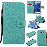 Samsung Galaxy Grand Prime PU Housse,Slim-Fit Folio Smart Cuir Portefeuille...