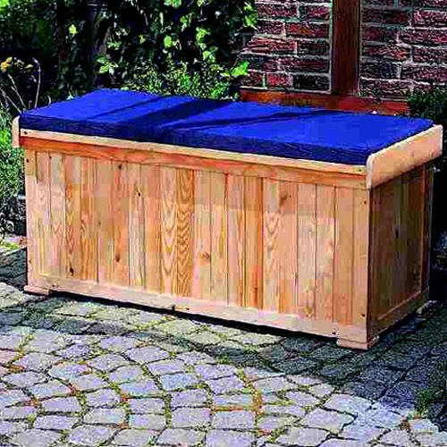 sitztruhe garten excellent kissenbox sitztruhe wschetruhe. Black Bedroom Furniture Sets. Home Design Ideas