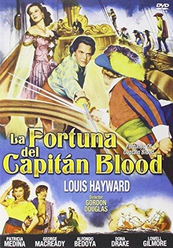 Liebe unter schwarzen Segeln / Fortunes of Captain Blood ( ) [ Spanische Import ]