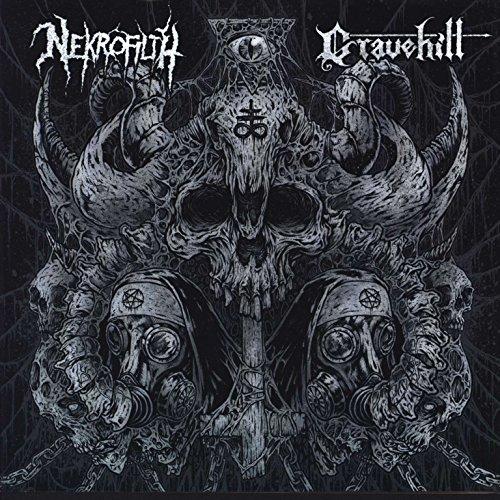 Nekrofilth / Gravehill [Vinyl Single]