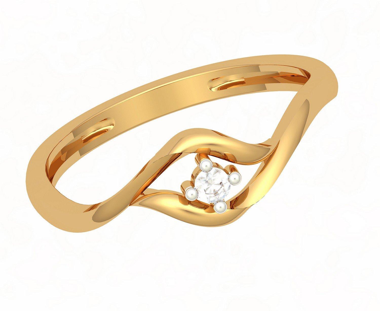 JewelOne 22k (916) Yellow Gold The Wilona Ring
