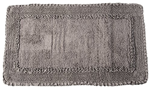 uno-casa-design-pura-fibra-rouge-tappeto-100-cotone-titanio-50x150x2-cm