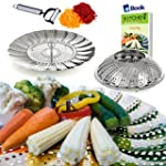 Vegetable Steamer Basket Complete Bun...