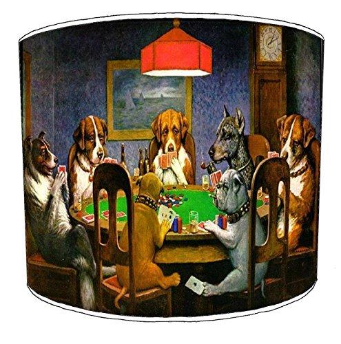 Premier Lighting 20,3 cm Table Chiens Jouer Poker Art Monture, 30,5 cm