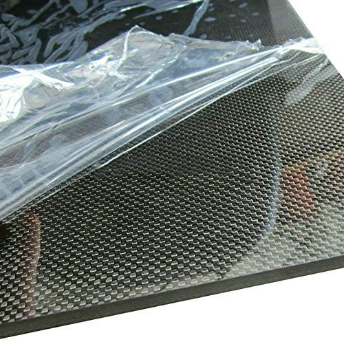 SOFIALXC Carbon Fiber Board 100% 3K Plain Weave, Glatte Oberfläche, Carbon Platte, Laminat für DIY CNC gefräste Teile, 200x300mm, 1mm -