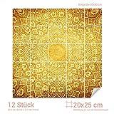 Graz Design 765261_20x25_80 Fliesenaufkleber Thailand/Motiv für Deine Kacheln | Wand-Deko für Bad/Küchen-Fliesen (Fliesenmaß: 20x25cm (BxH)//Bild: 80x80cm (BxH))