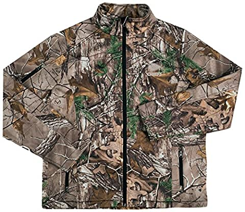 NFL Kansas City Chiefs Huntsman Softshell Jacket, Real Tree Camouflage, 3X