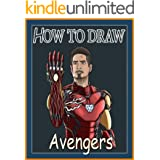 How to Draw Avengers Characters - Step By Step Drawing