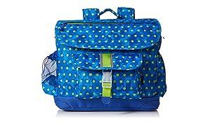Bixbee Boys' Emoti-Camo Emoji Backpack, Blue