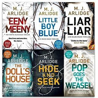 M. J. Arlidge Detective Inspector Helen Grace Series Collection 6 Books Set