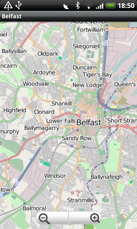Belfast Street Map: Amazon.co.uk: Appstore for Android