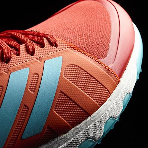 adidas Hockey Lux Red Aqua Schuh - SS18 Scarlet/ Aqua
