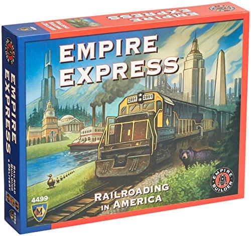 Mayfair Games MFG04499 - Brettspiele, Empire Express -