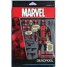 Póster Deadpool, figura. Marvel