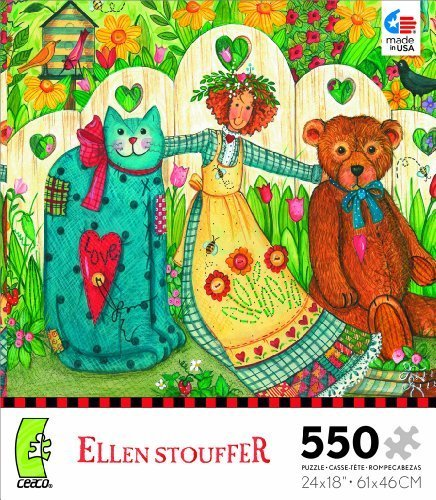ellen-stouffer-girl-and-friends-jigsaw-puzzle-by-ceaco