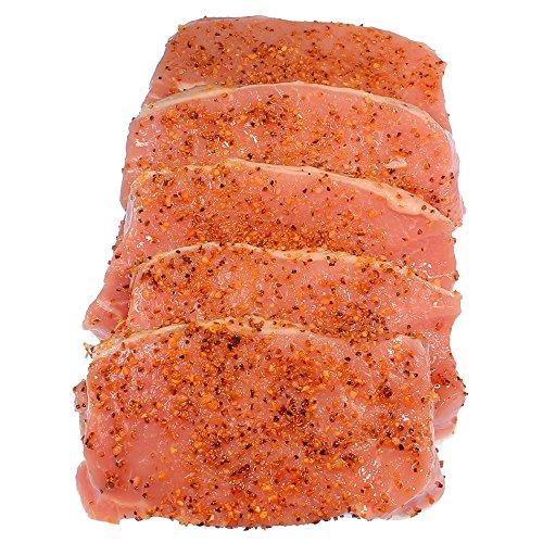 Orangen-Pfeffer-Steaks 5 Stück = 900 g