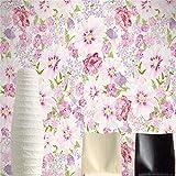 HONGYAUNZHANG Rosa Mädchen Blumen Benutzerdefinierte Fototapete 3D Stereoskopische Wand Wohnzimmer Schlafzimmer Sofa Hintergrund Wand Wandbilder,200Cm (H) X 280Cm (W)
