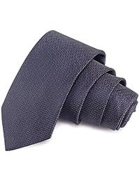 Peluche Enamoring Grey Colored Microfiber Necktie for Men