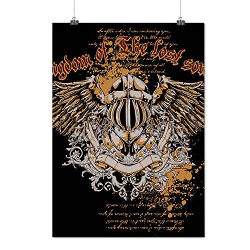 Königreich Hat verloren Seele Mode Engel Flügel Mattes/Glänzende Plakat A3 (42cm x 30cm) | Wellcoda