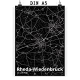 Mr. & Mrs. Panda Poster DIN A5 Stadt Rheda-Wiedenbrück