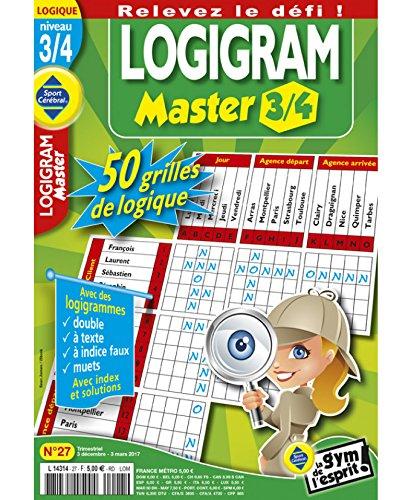 Logigram Master 3/4 Niveau 3/4