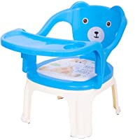 BAYBEE Baby Chair, with Tray Strong and Durable Plastic Chair for Kids/Plastic School Study Chair/Feeding Chair for Kids…