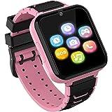 Kids Smartwatch Telefoon voor jongens meisjes met HD Touchscreen, Smart Horloge voor kinderen met Games Muziekspeler Twee-weg