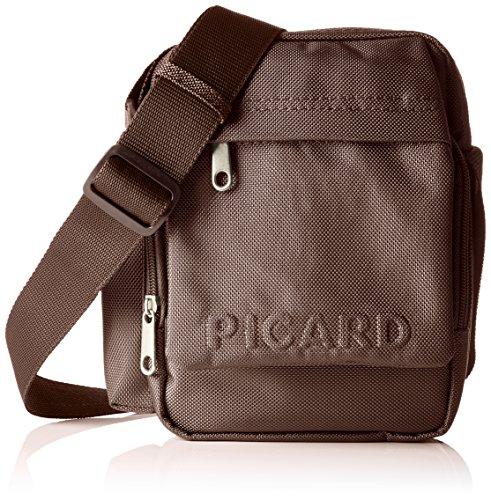 Picard Damen Hitec Umhängetaschen, 15x21x8 cm Braun (Cafe)