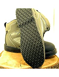 BISON WADING BOOTS IN STUDDED FELT SOLE OR RUBBER SOLE