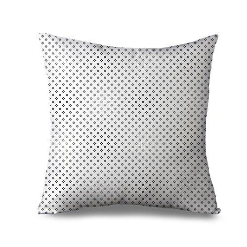 Schwarz und Weiß Werfen Kissen für Couch Decors Kissen Fall Kissenbezug, quadratisch 45x 45cm Accent Kissenbezüge Modern Geometrische Kissen Sham für Bett -