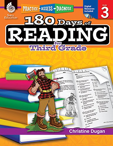180 Days of Reading for Third Grade (180 Days of Practice) por Christine Dugan