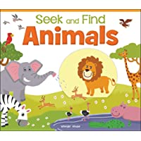 Seek And Find - Animals : Early Learning Board Books With Tabs