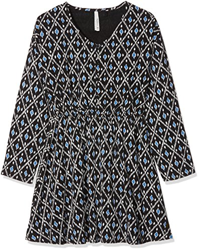 Pepe Jeans Mädchen Kleid Monica Teen, Mehrfarbig (Multi Bleu 0aa), 140 (Herstellergröße: XX-Small)