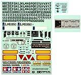 TAMIYA 319495770 - Zubehör: Sticker Metal Mercedes Benz Actros 56335
