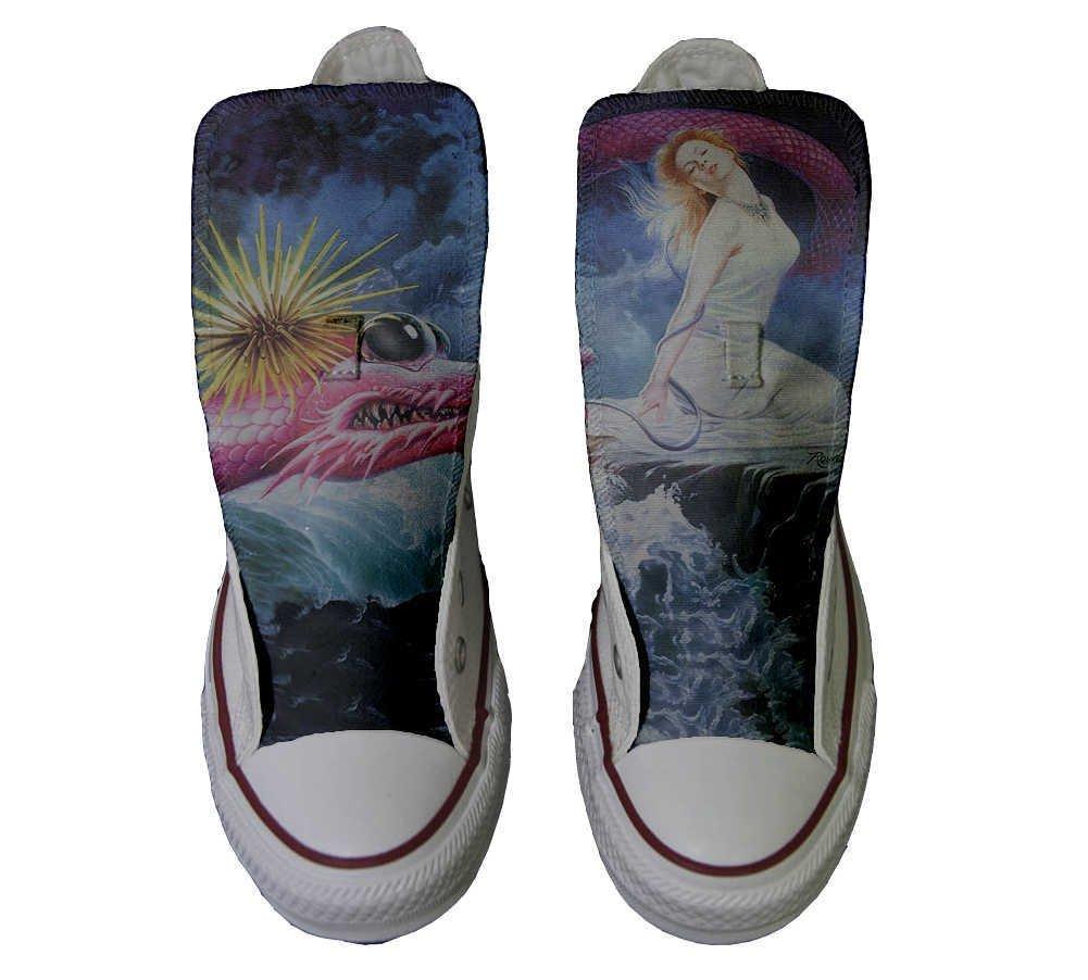Converse Personalizados All Star Customized – Zapatos Personalizados (Producto Artesano) Fata Drago