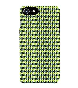 HiFi Designer Phone Back Case Cover Apple iPhone 6S :: Apple iPhone6S ( Colorful Pattern Design Green Diamond )