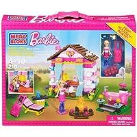 Mega Bloks Barbie Build N Play Glam Cabin